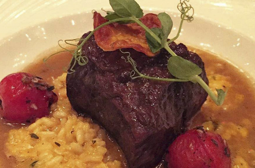 Short Rib & Lobster Risotto
