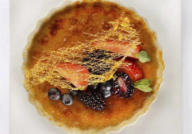 Visit us and enjoy an excellent crème brûlée