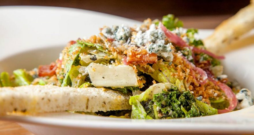Our magnificent Meat Market Caesar Salad