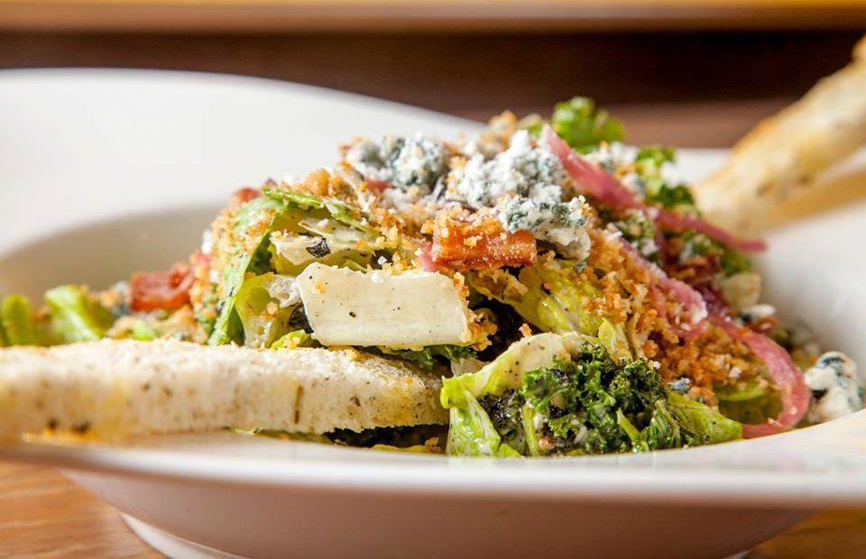 Our magnificent Meat Market Caesar Salad