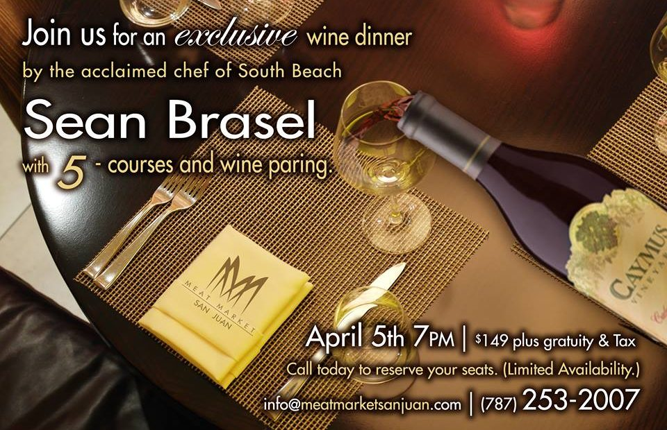 Join us for an exclusive wine dinner