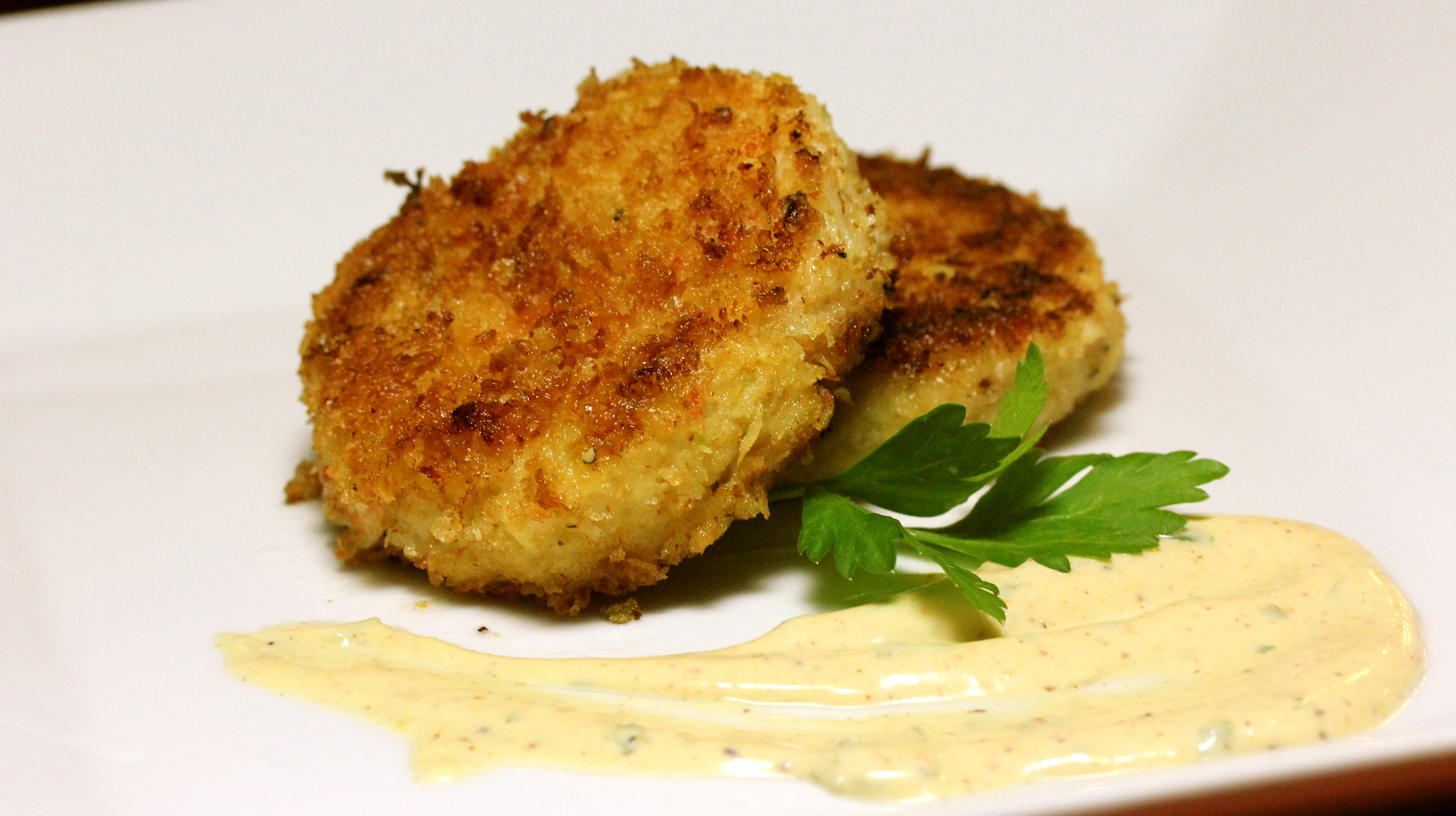 Crab Cakes Without Bread